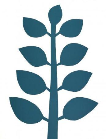 Litografia Ballester Moreno - Árbol Verde