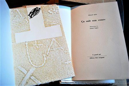 Libro Illustrato Tapies - Ça Suit Son Cours.