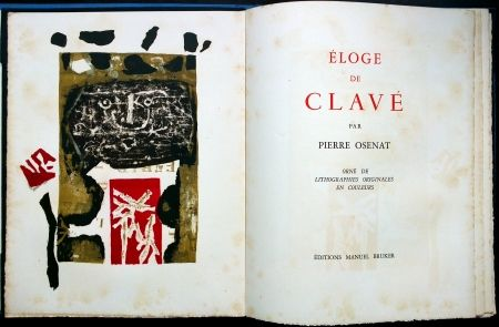 Libro Illustrato Clavé - Éloge De Clavé