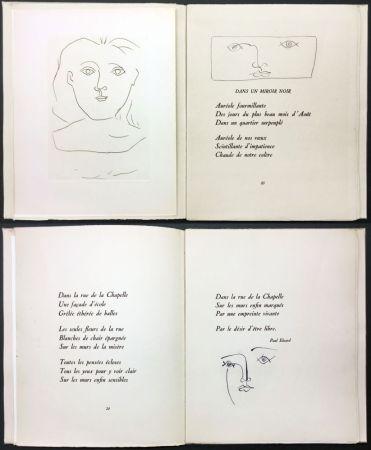 Libro Illustrato Picasso - Éluard, Colette, Valéry : JOURS DE GLOIRE (1945)..