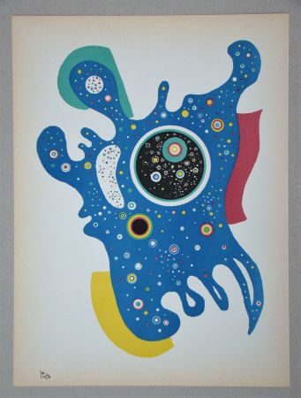 Litografia Kandinsky - Étoiles