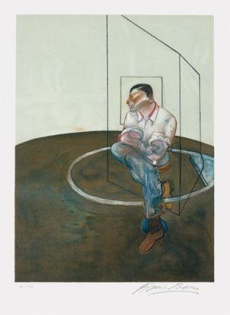 Litografia Bacon - Étude Pour Un Portrait De John Edwards