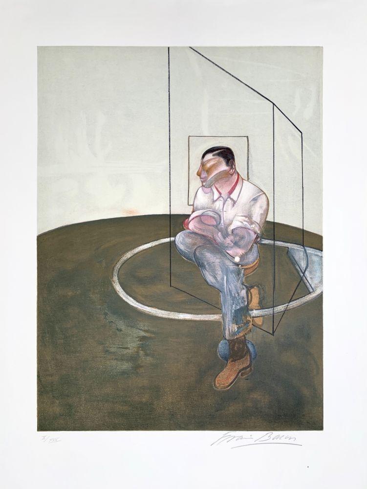 Litografia Bacon - Étude pour un portrait de John Edwards, 1987