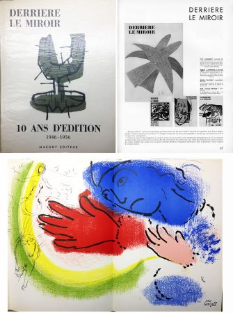 Libro Illustrato Chagall - 10 ANS D'ÉDITION.DLM 92-93. CHAGALL. 1955