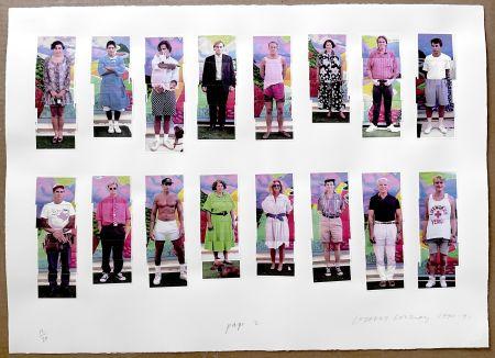 Fotografie Hockney - 112 L A Visitors - page 2 of Portfolio