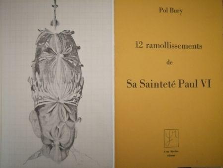 Libro Illustrato Bury - 12 ramollissements de sa Sainteté Paul VI