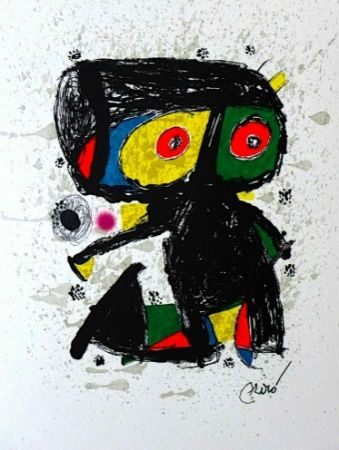 Litografia Miró - 15 ans Poligrafa