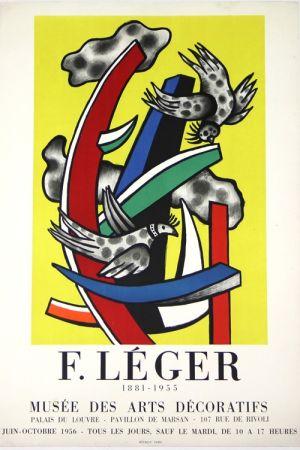 Litografia Leger -  1881 - 1955     Musée  Des Arts Décoratifs