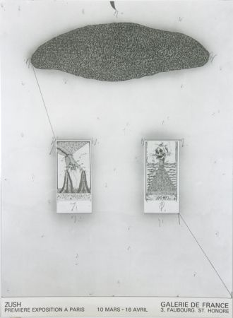 Offset Zush -  1 er Exposition à Paris Galerie de France