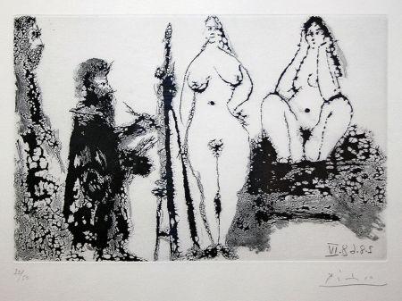 Acquatinta Picasso - 347 SERIES (BLOCH 1715)