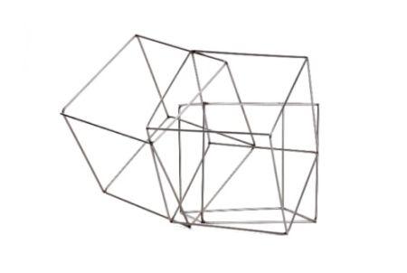 Multiplo Morellet - 3 cubes imbriquès