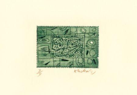Acquaforte Alechinsky - 3 petites plaques