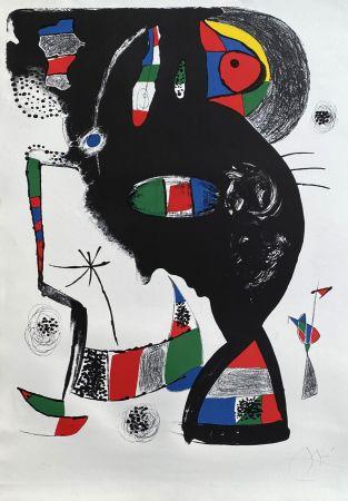 Litografia Miró - 42 rue Blomet