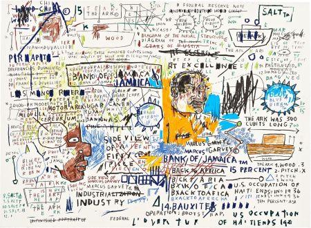 Serigrafia Basquiat - 50 Cent Piece