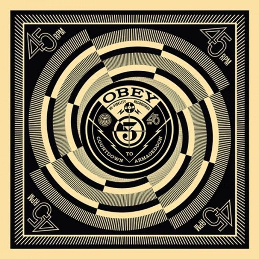Serigrafia Fairey - 50 Shades of Black Box Set: Countdown to Armageddon