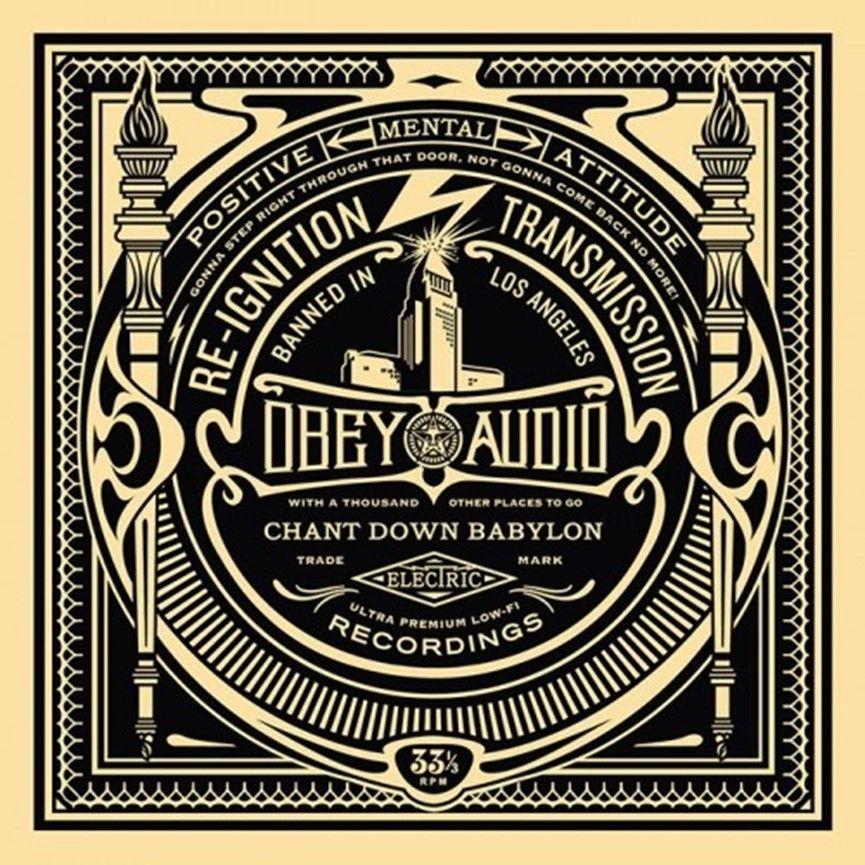 Serigrafia Fairey - 50 Shades of Black Box Set: Reignition Transmission