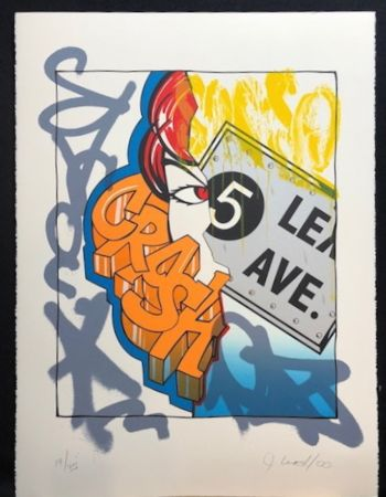 Litografia Crash - 5 Lex