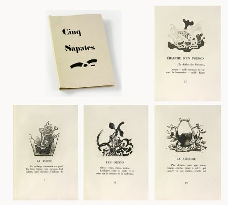 Libro Illustrato Braque - 5 sapates