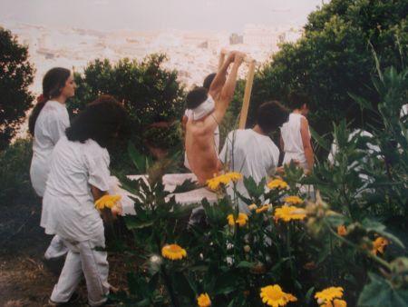Fotografie Nitsch - 96 Aktion – Giardini San Martino, Napoli, A