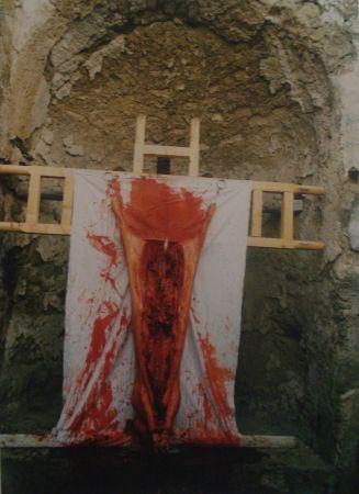 Fotografie Nitsch - 96 Aktion – Giardini San Martino, Napoli, I