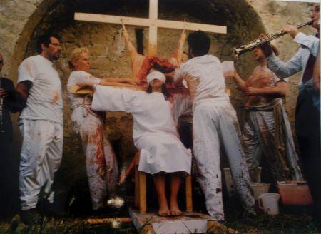 Fotografie Nitsch - 96 Aktion – Giardini San Martino, Napoli, T