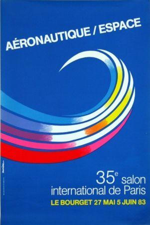 Litografia Auriac - Aéronautique Espace  Salon du  Bourget