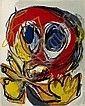 Litografia Appel - A Beast-Drawn Man