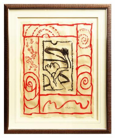 Litografia Alechinsky - A bras le corps