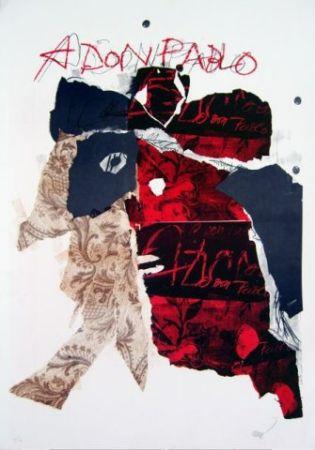 Litografia Clavé - A Don Pablo I