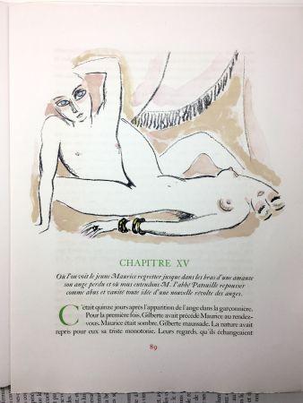 Libro Illustrato Van Dongen - A. France : LA RÉVOLTE DES ANGES. 58 lithographies en couleurs (1951)