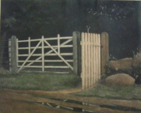 Maniera Nera Ilsted - A gate in the wood