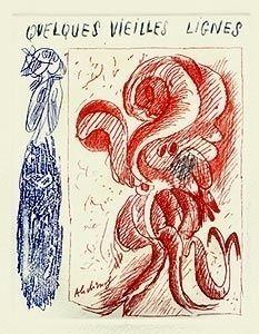 Libro Illustrato Alechinsky - A la gare