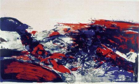 Litografia Zao - A la Gloire de l'Image 274