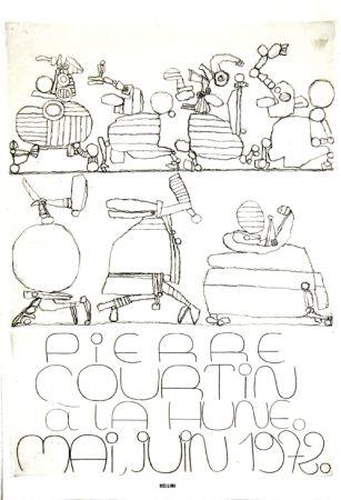 Litografia Courtin - A la Hune