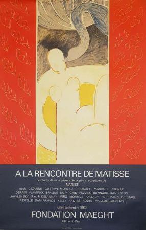 Litografia Matisse - A la Rencontre de Matisse Fondation Maeght
