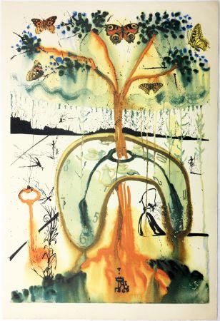 Rotocalcografia Dali - A MAD TEA PARTY (From Alice in Wonderland. New-Yok 1969).