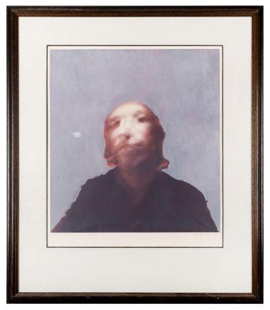 Serigrafia Hamilton - A Portrait of the Artist by Francis Bacon