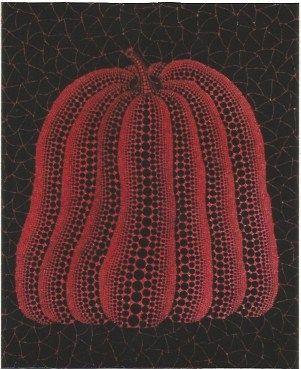 Serigrafia Kusama - A pumpkin