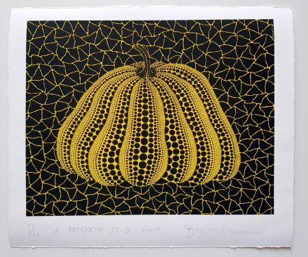 Serigrafia Kusama - A Pumpkin YB-D