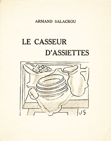 Libro Illustrato Gris  - A. Salacrou : LE CASSEUR D'ASSIETTES. 5 LITHOGRAPHIES ORIGINALES (1924).