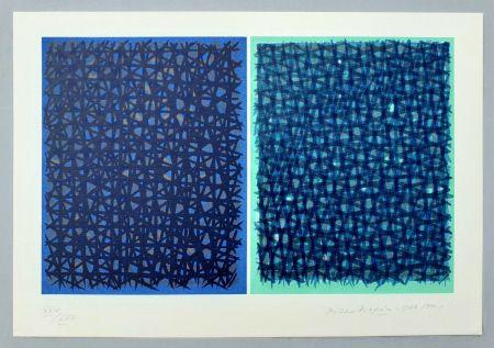 Serigrafia Dorazio - A verde B blu