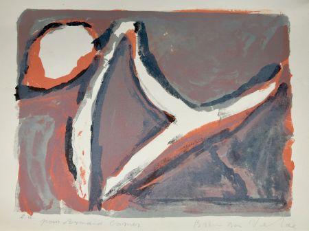 Litografia Van Velde - Abstract