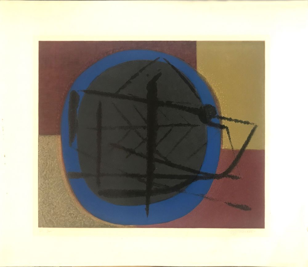 Litografia Piaubert - Abstract composition