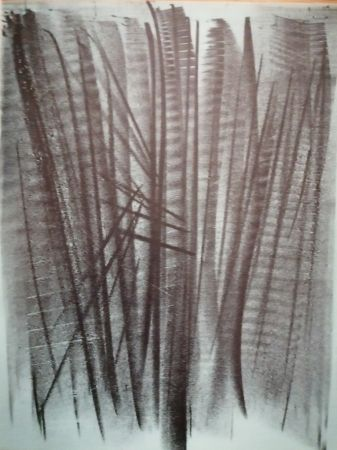 Litografia Hartung - Abstraction