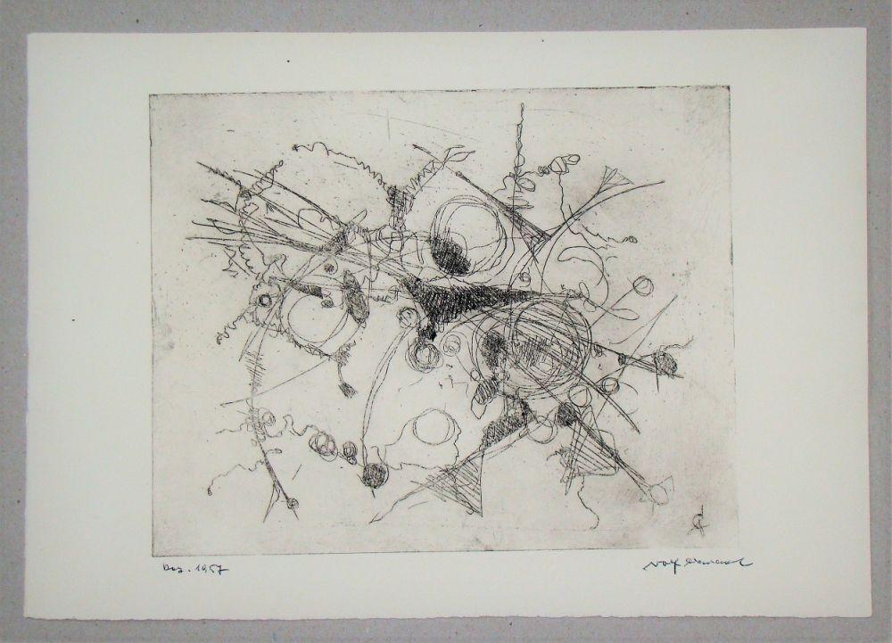 Acquaforte Cavael - Abstrakte Komposition