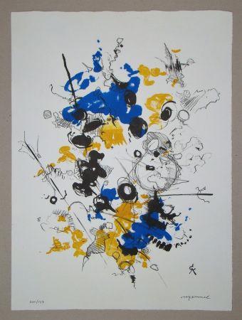 Litografia Cavael - Abstrakte Komposition