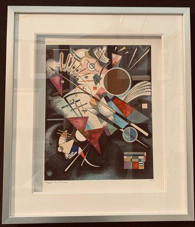 Litografia Kandinsky - Accompagnement en noir