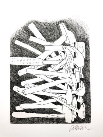 Litografia Arman - Accumulations