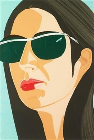 Serigrafia Katz - Ada With Sunglasses