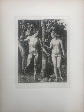 Acquaforte Durer - Adam & Eve